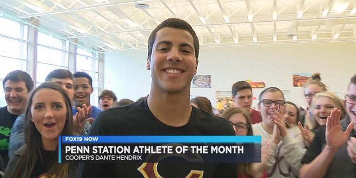 April's Penn Station Athlete of the Month: Dante Hendrix of Cooper
