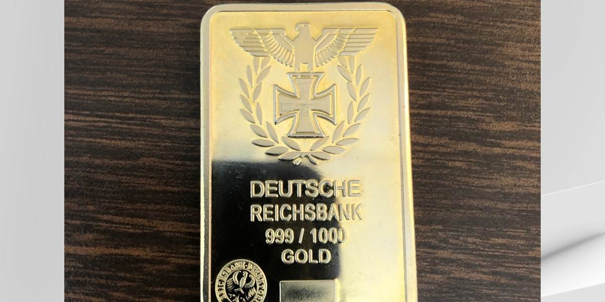 Gold bar found in Salvation Army Red Kettle turned out to be fake