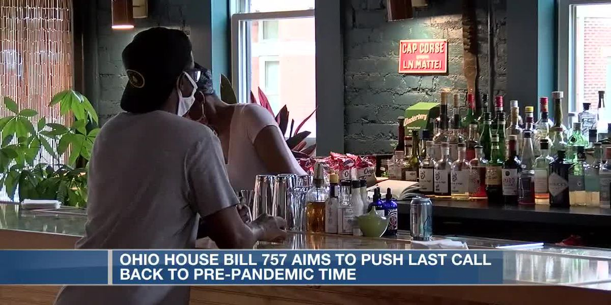 Ohio House bill aims to lift statewide 'last call' order