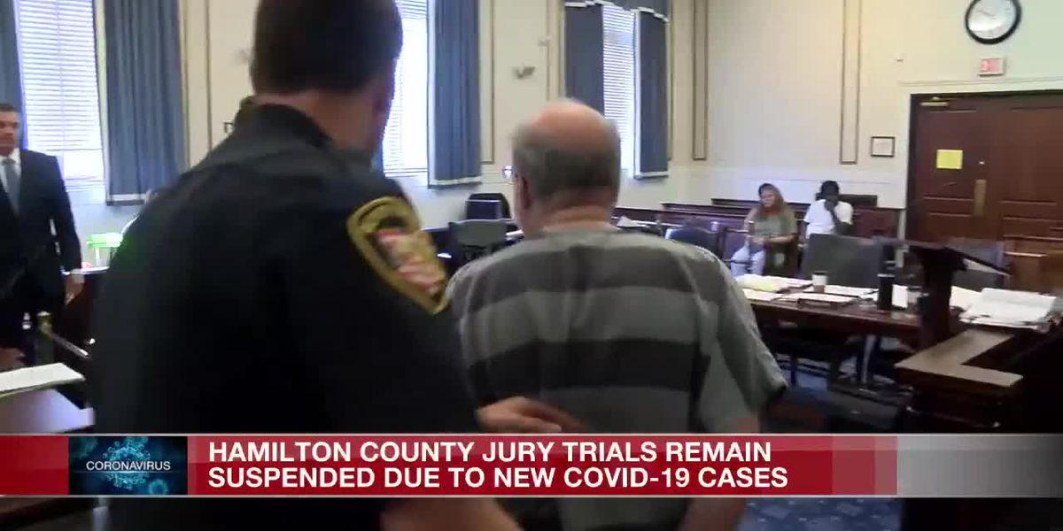 Jury trials not resuming in Hamilton County due to COVID-19 spike, judge says