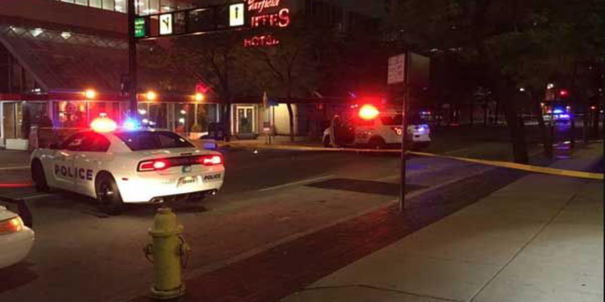 Man hurt, juvenile in custody after shooting Downtown