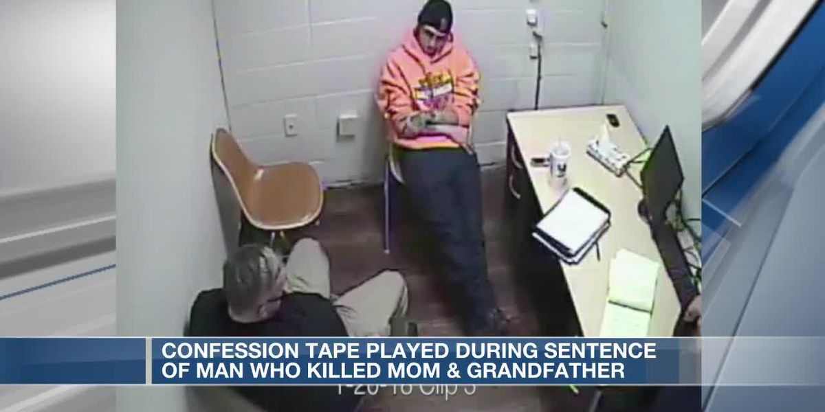 Man who confessed to killing mother, grandfather sentenced