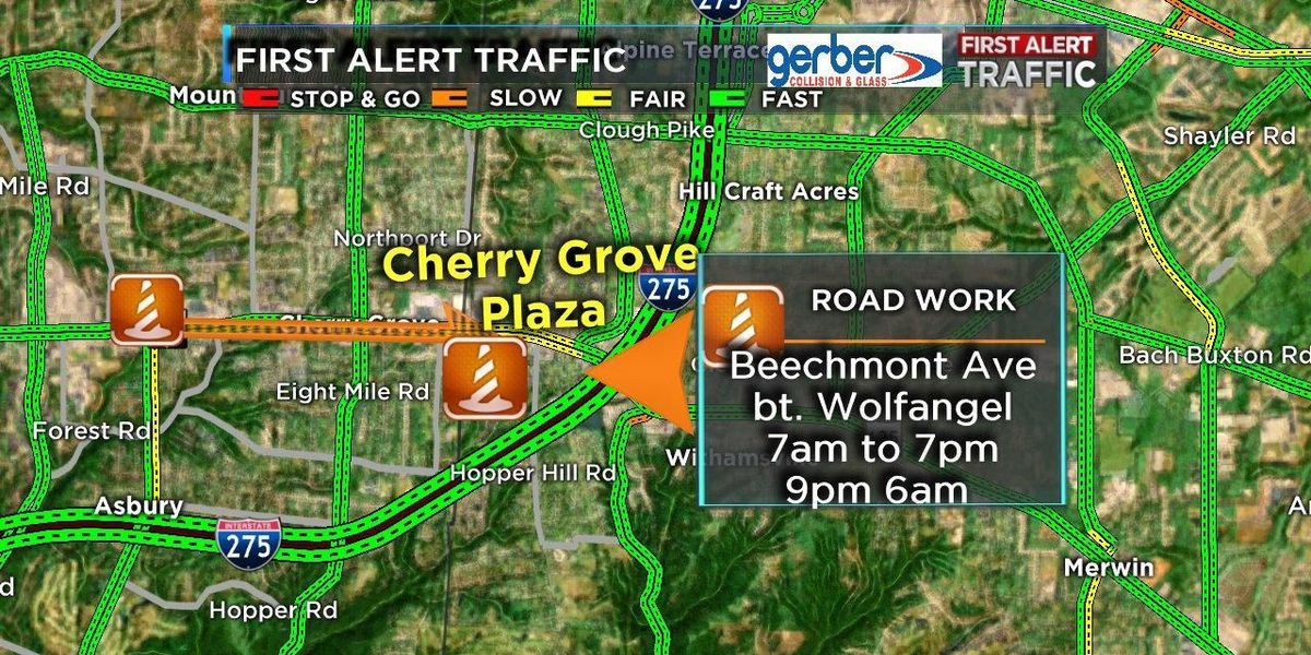 Get ready for more orange barrels now on State Route 125