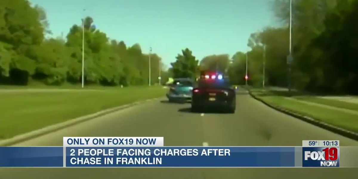 2 people facing charges after chase in Franklin