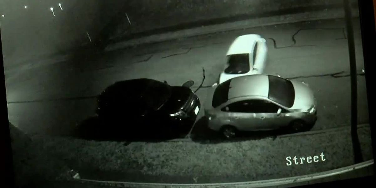 VIDEO: Parked cars smashed in Price Hill collision
