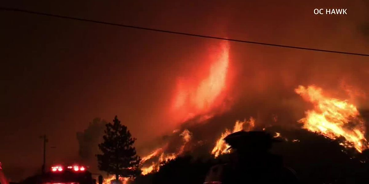 Watch this firenado in Southern California