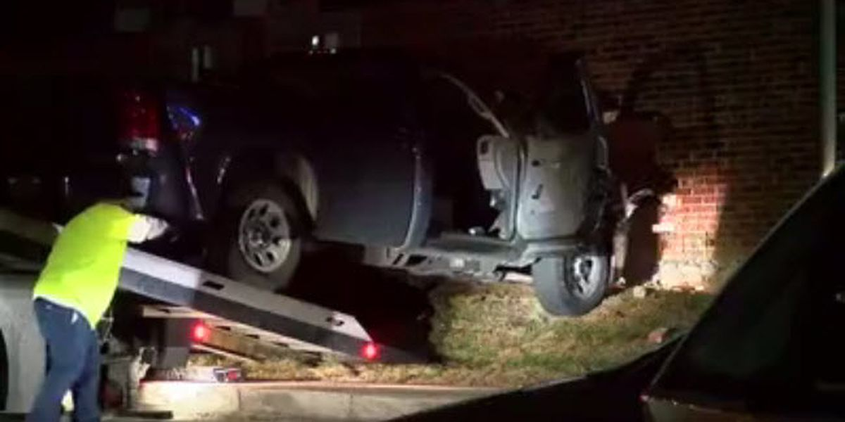 'Did I get you?': Police say dispute ends with man ramming truck into woman's bedroom