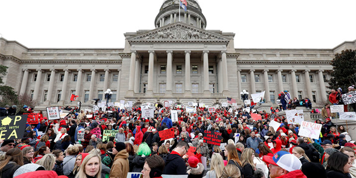 NKY schools close as teachers rally at state capital
