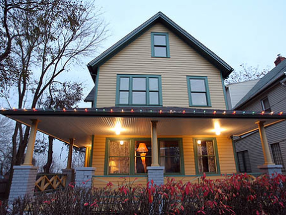 Spend the night at The Christmas Story house in Cleveland