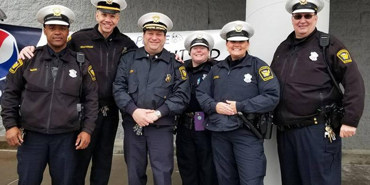 Stuff the Cruiser: Cincinnati police collect donations for needy SPCA animals