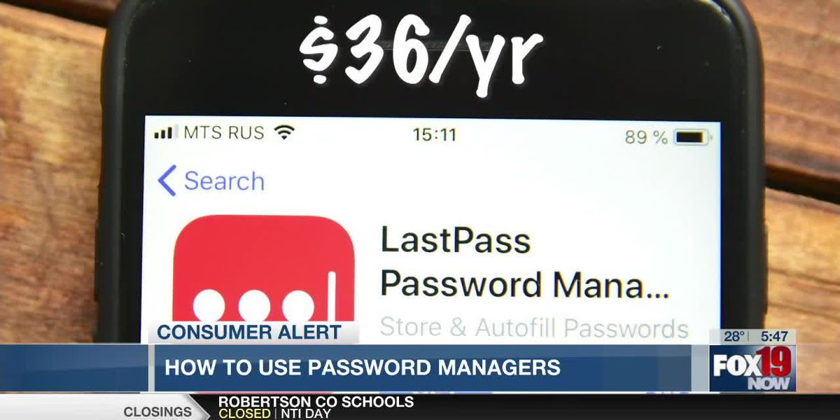 How to use password managers