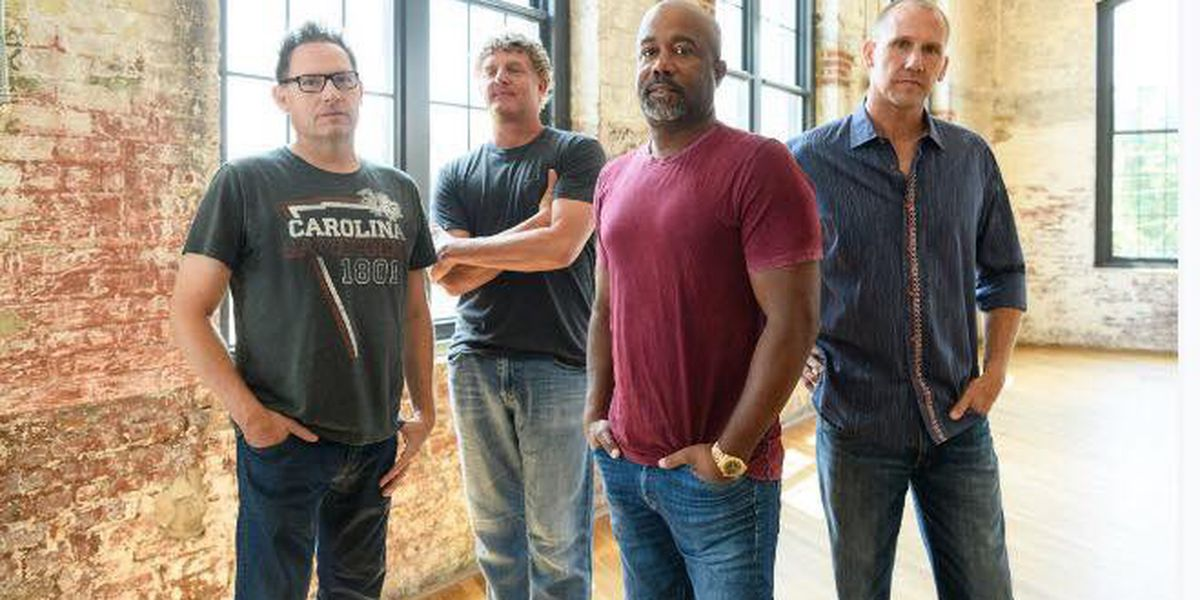 Hootie & The Blowfish will hold 'Group Therapy' at Riverbend in 2019