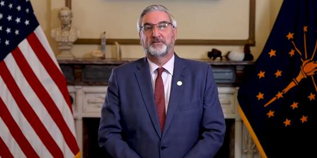 Indiana's mask mandate changing to advisory in April, Gov. Holcomb announces