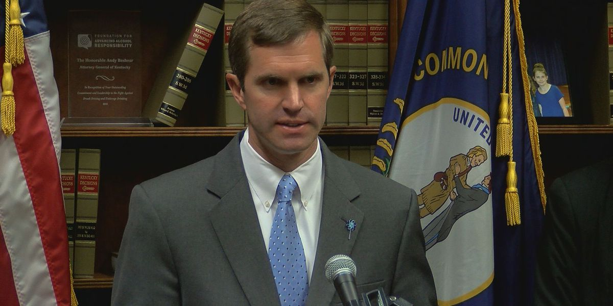 Kentucky AG Beshear wins Democratic gubernatorial primary