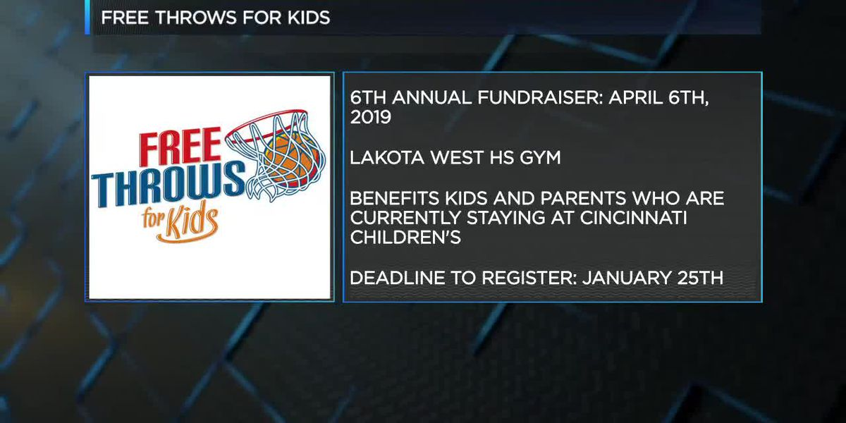 Free Throws For Kids Fundraiser