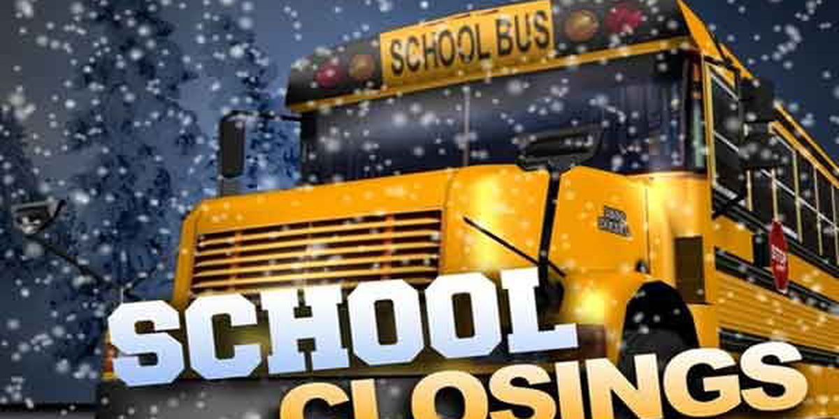LIST: Weather-related delays and closings