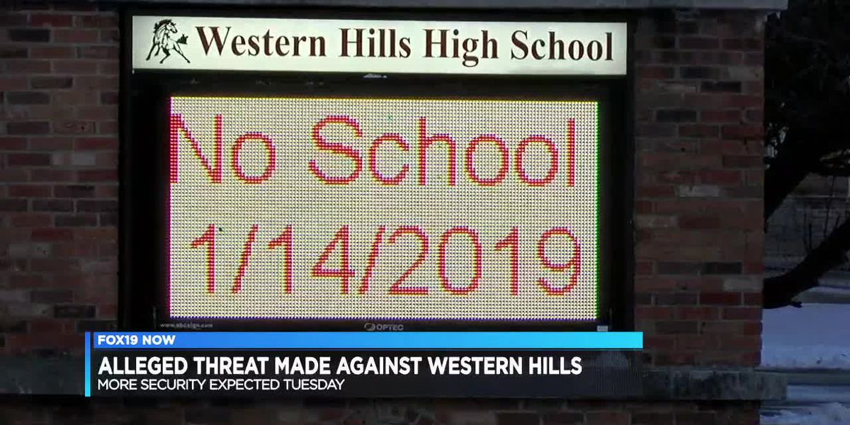 Alleged threat made against Western Hills HS