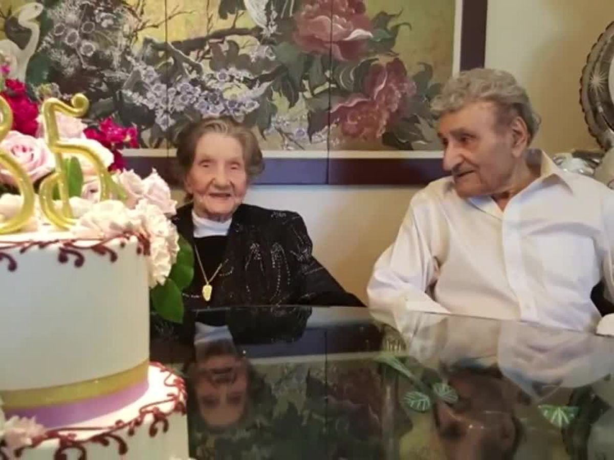 America's longest-living couple celebrates 85th wedding anniversary