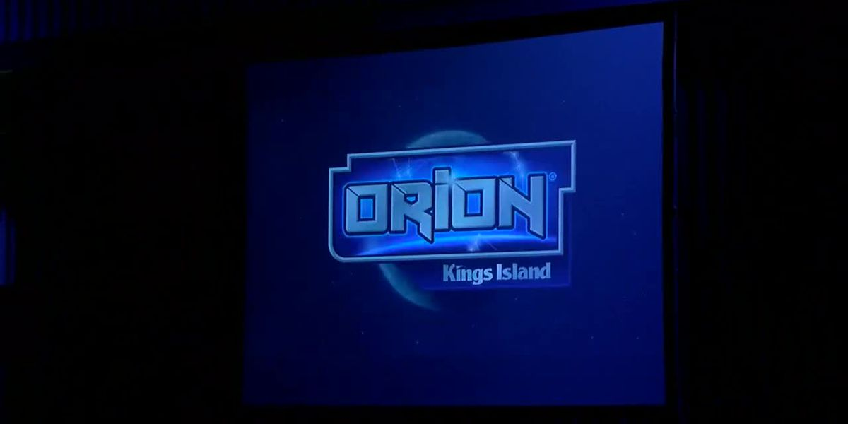 Kings Island announces its new steel coaster Orion!