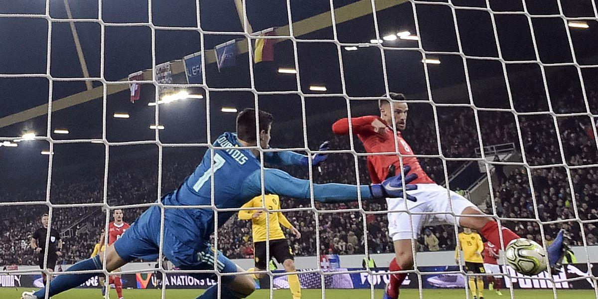 Swiss stun Belgium 5-2 to make Final Four in Nations League