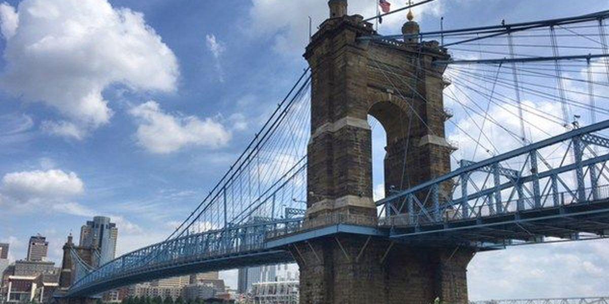 Roebling Suspension Bridge closing until further notice, officials say