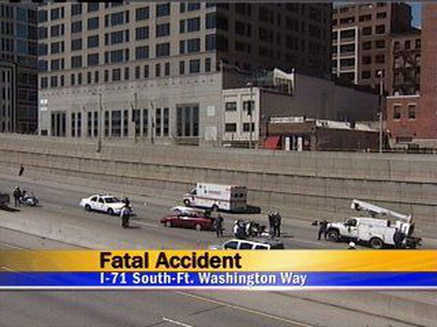 Fatal accident on I-71