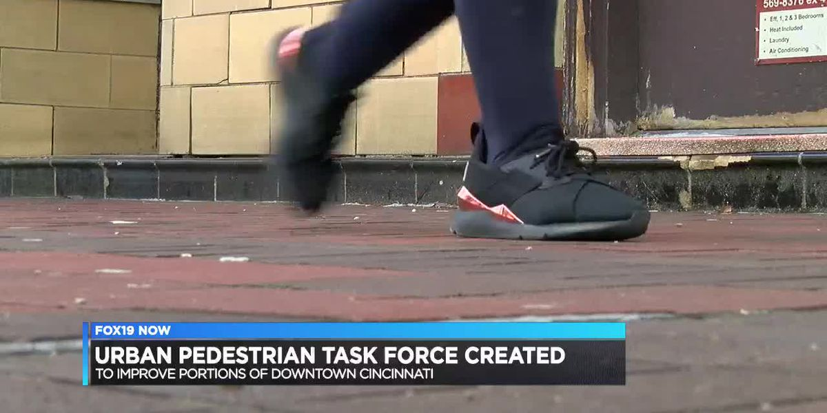 Urban Pedestrian Task Force created