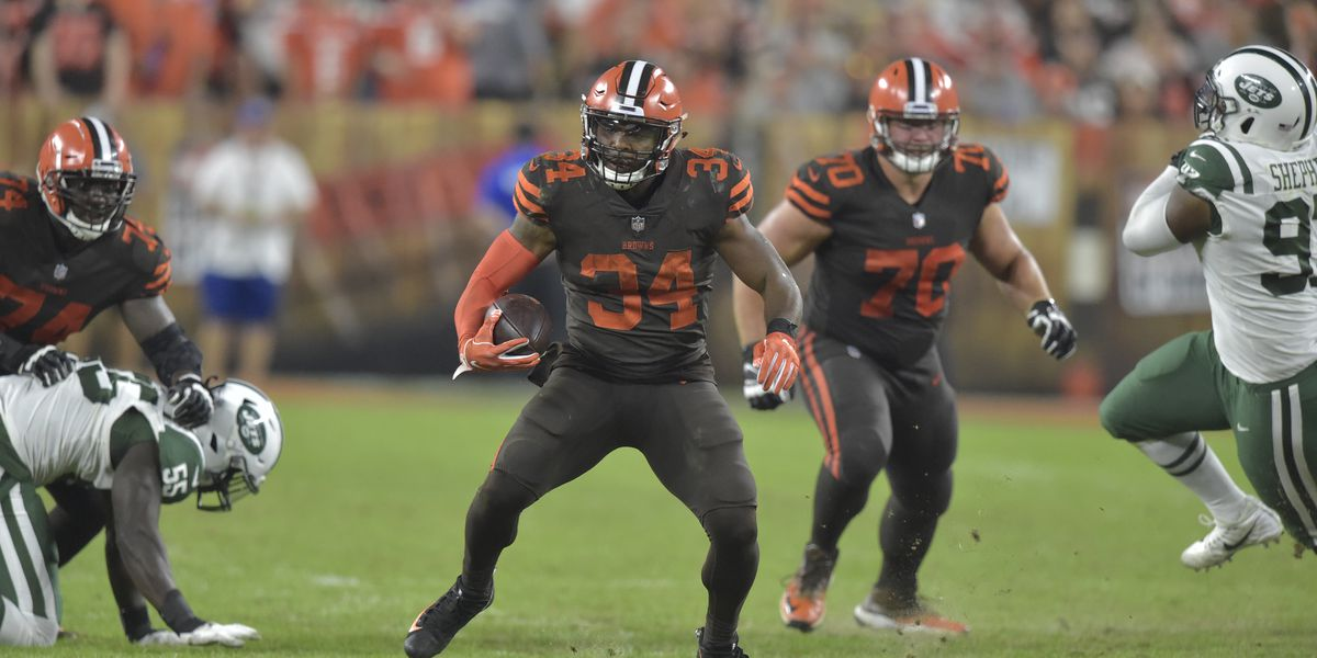 Cleveland Browns trade running back Carlos Hyde to Jaguars
