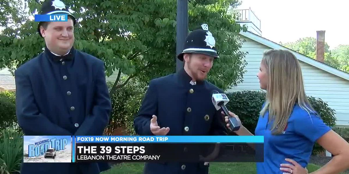 """FOX19 NOW Morning Road Trip-Director of """"39 Steps"""""""