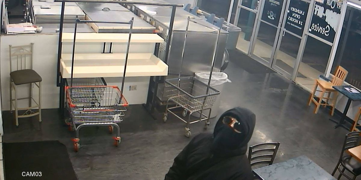 Trenton police seek thief who stole ATM from laundry, tanning business