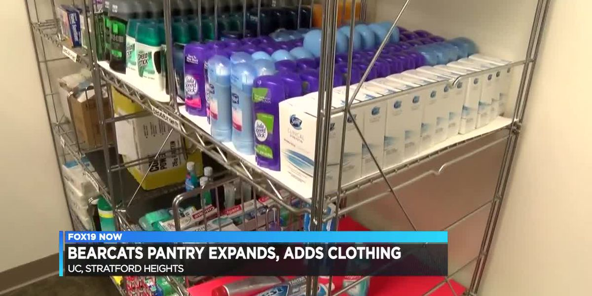 UC pantry expands, adds clothing