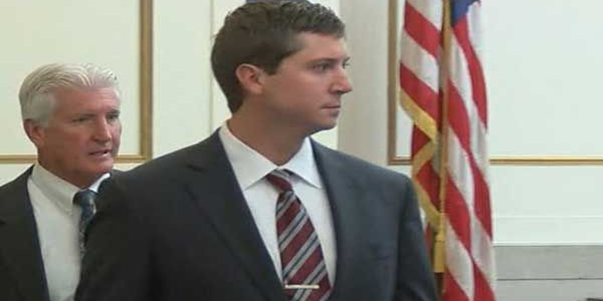 Long lines wrap around courthouse as Tensing trial begins