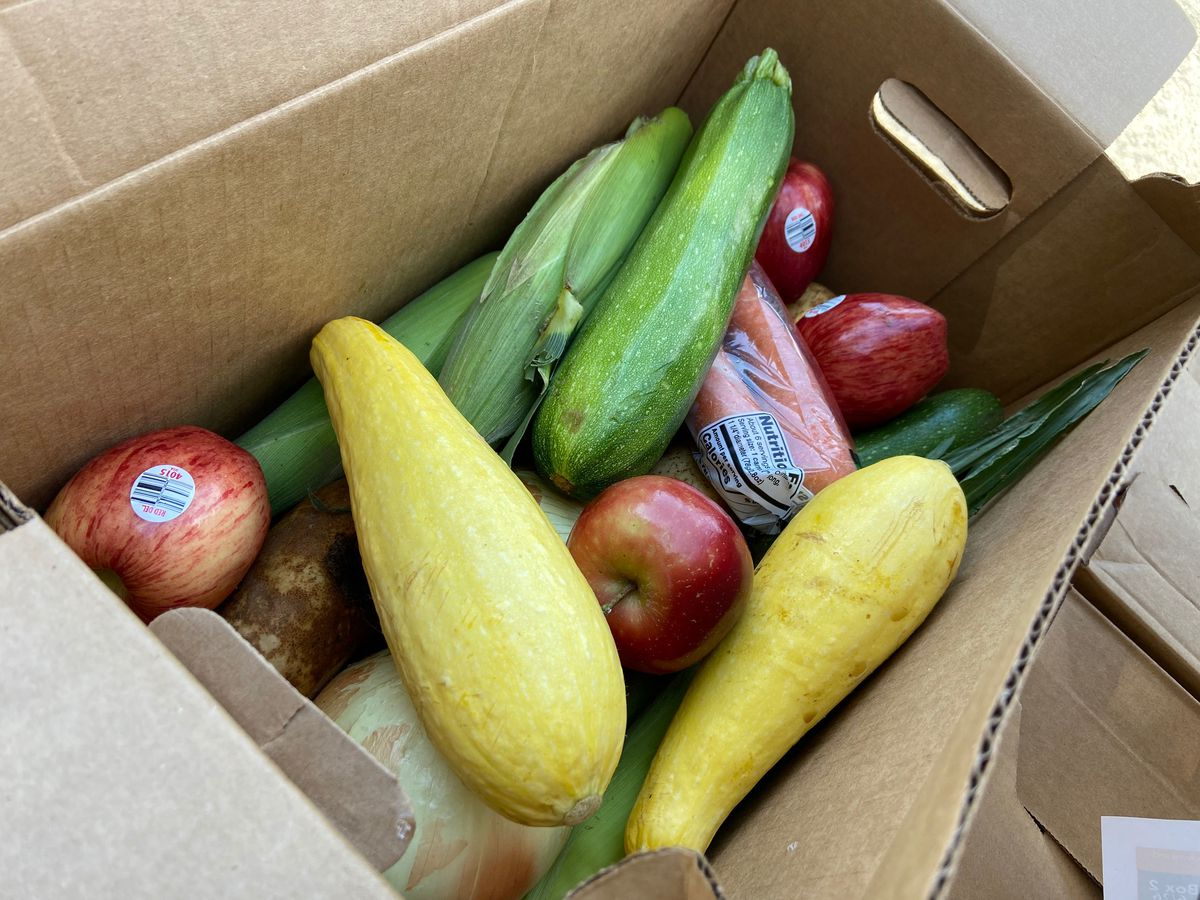 CPS distributing free produce every Thursday through summer