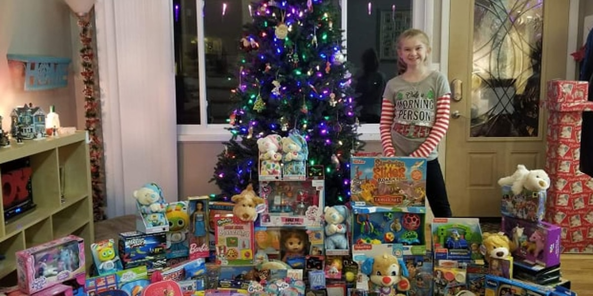 Cincinnati girl collecting toys, gifts for Children's Hospital