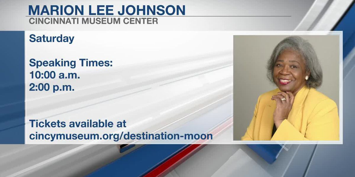 FOX19 10 a.m. Xtra - Apollo 11 Mission's Marion Lee Johnson at Cincinnati Museum Center