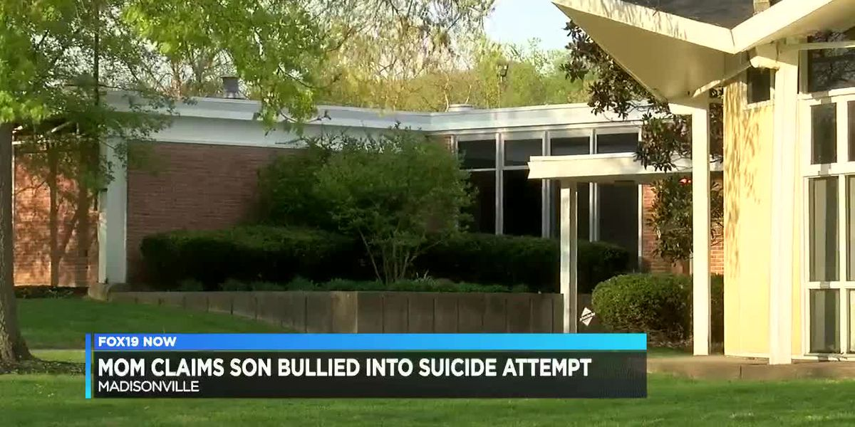 Mom claims son bullied into suicide attempt