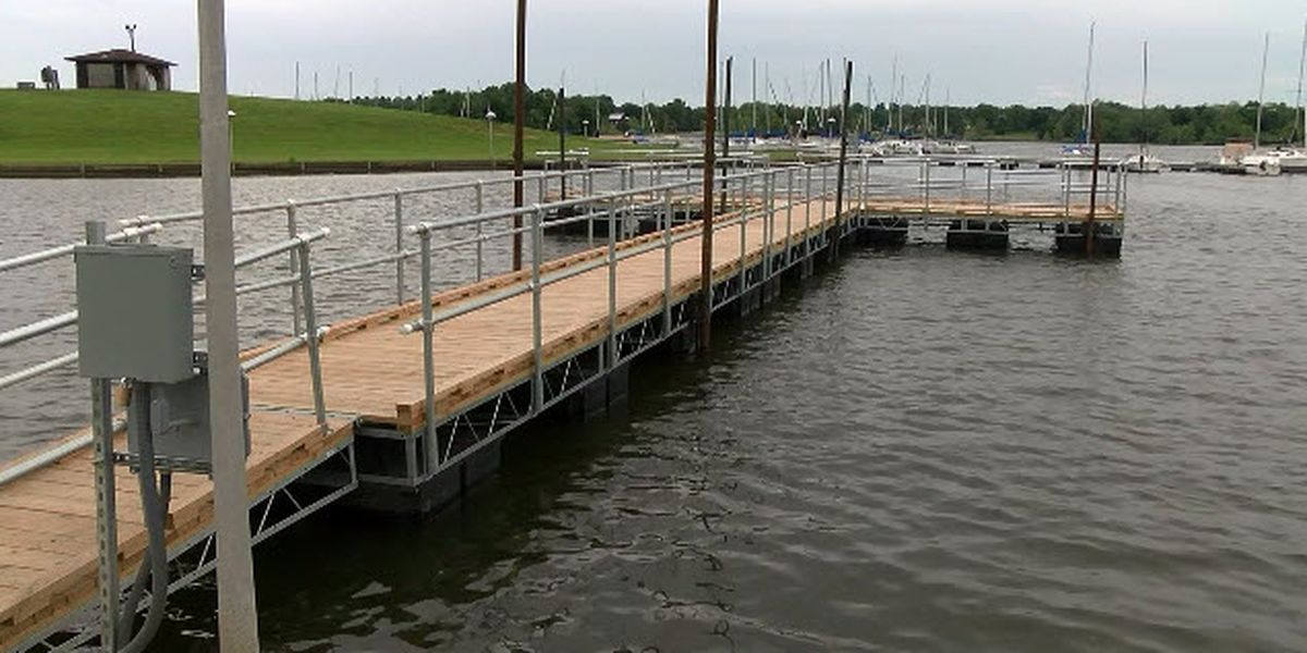Anglers rejoice: There's a new fishing pier at Rocky Fork Lake