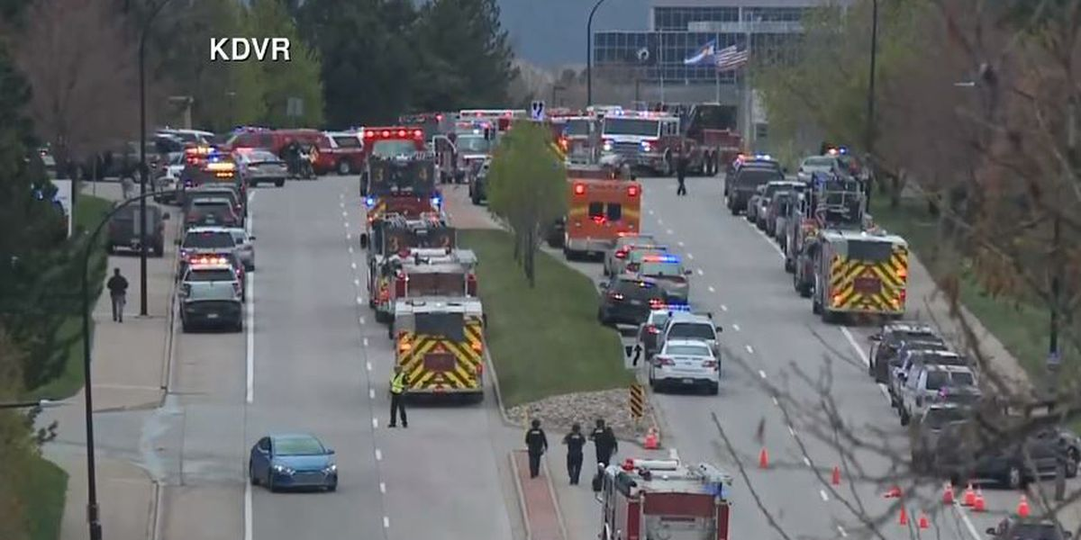 Multiple students injured, two in custody in Colorado school shooting