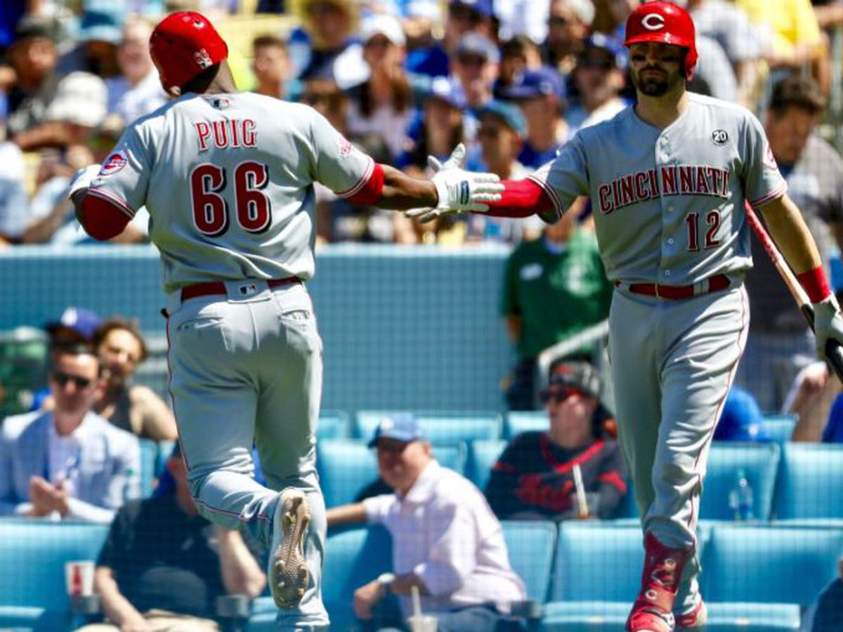 Reds take series over Brewers, inch closer to first place