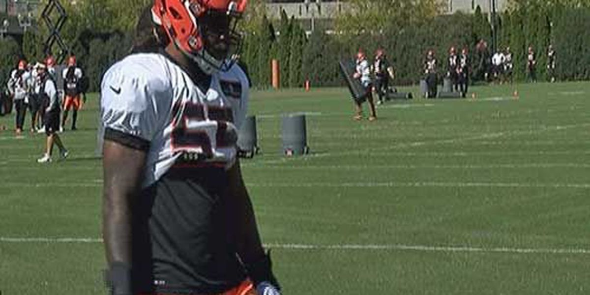 Burfict returns to practice, Green carted off
