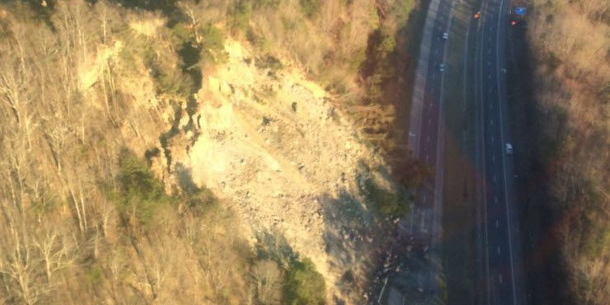 SB I-75 reopens at Kentucky-Tennessee line after rock slide