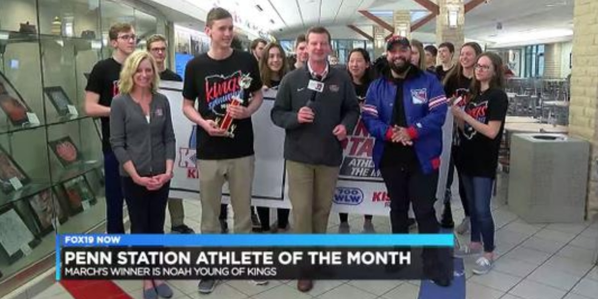 March's Penn Station Athlete of the Month: Noah Young