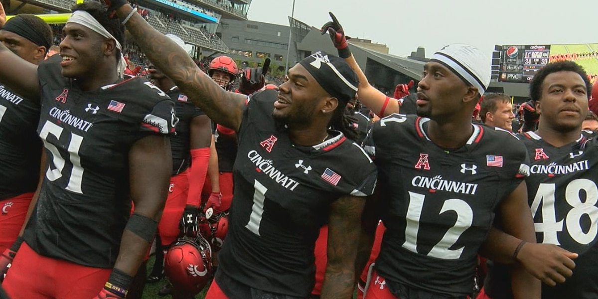 UC erases big deficit, stays perfect with 34-30 win