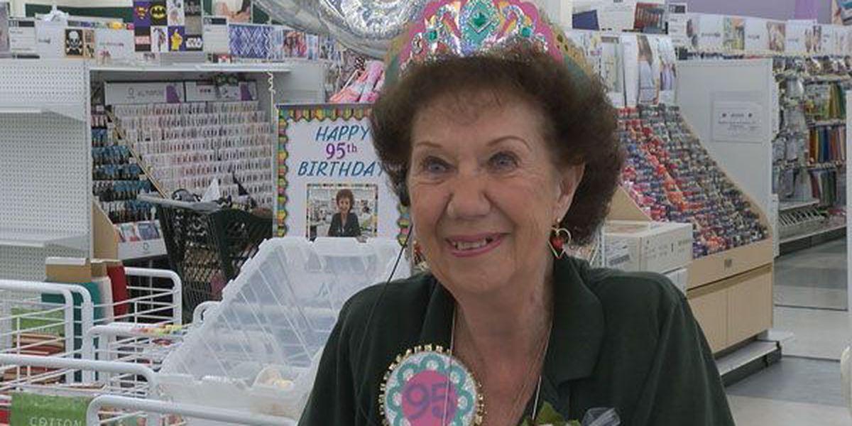 Mason store celebrates 95-year-old employee