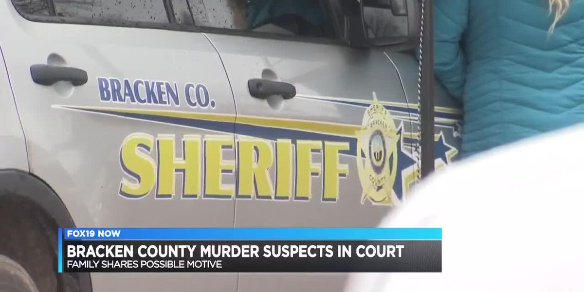 Bracken County murder suspects in court