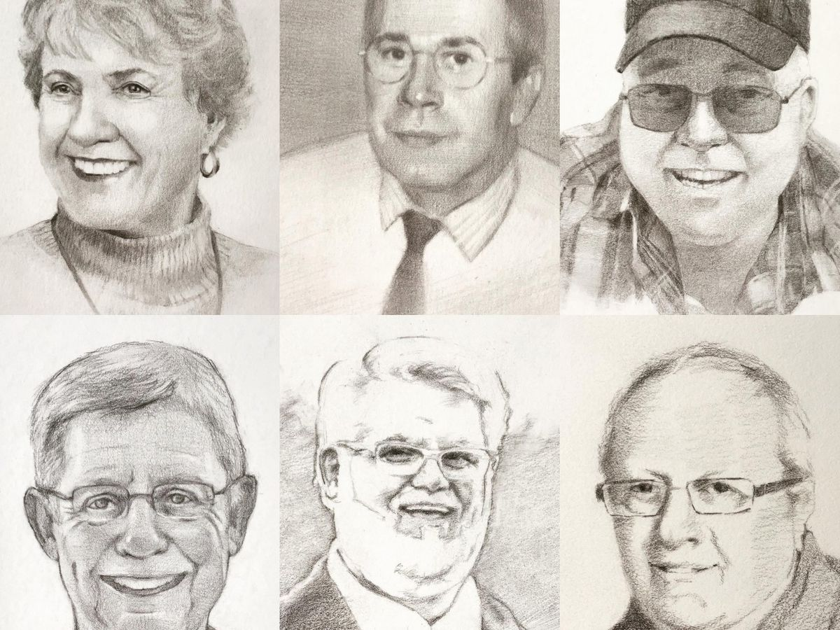 Library partners with artists for portrait project honoring lives lost to COVID-19