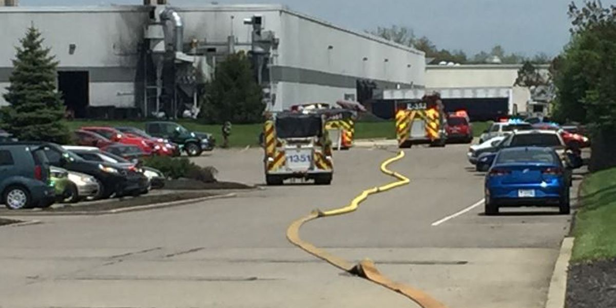 Explosion, fire reported at warehouse in Boone County