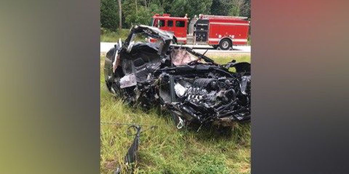 Driver in custody after police chase, I-74 crash
