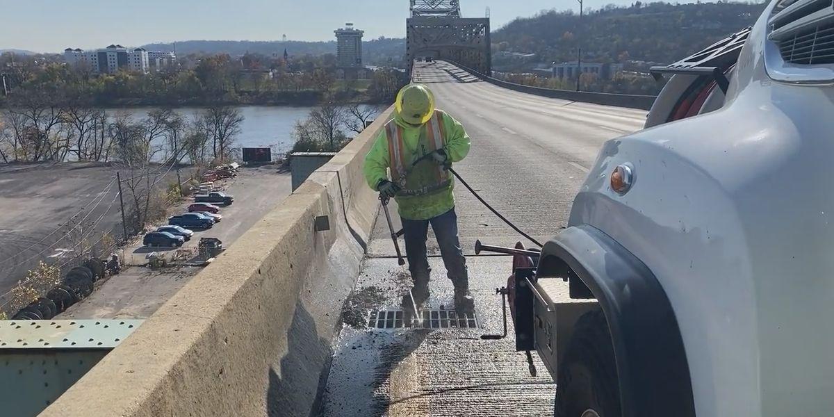 Brent Spence Bridge closure creates opportunity for maintenance crews