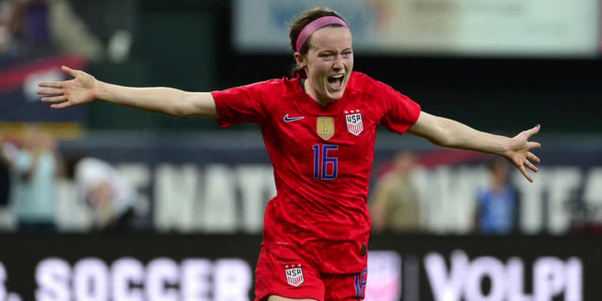 Rose Lavelle: The FIFA Women's World Cup star is breaking the internet in Cincinnati